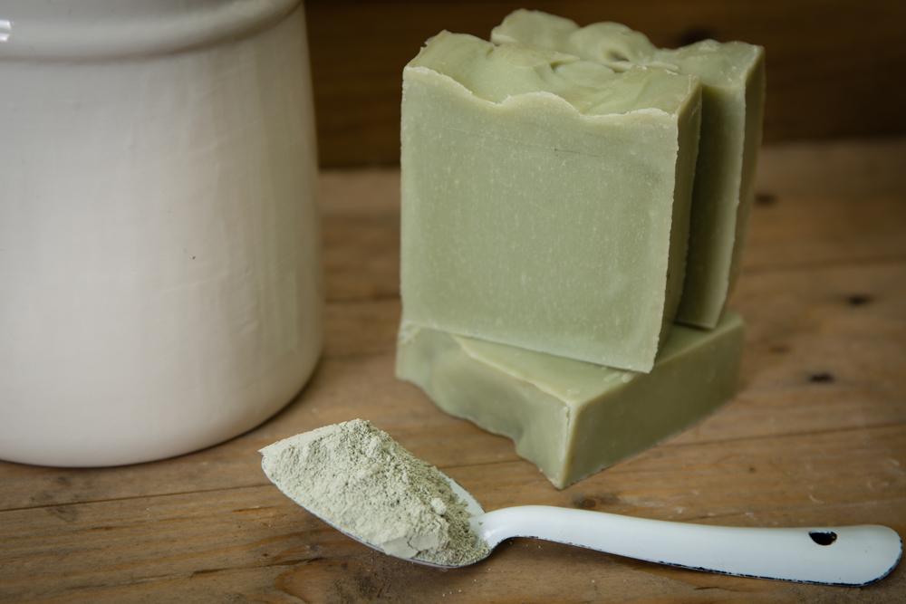 New on the site: Tea Tree & Green Clay Soap