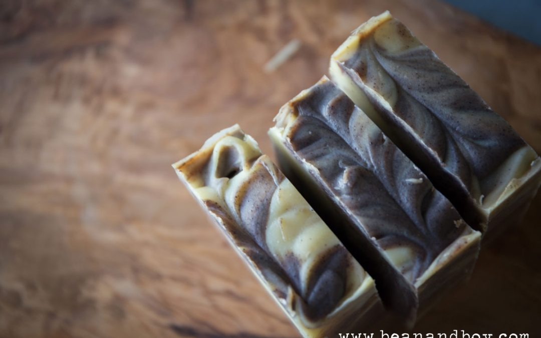 Cinnamon Swirl Soap