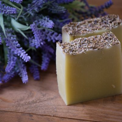 Bean and Boy Lavender Soap