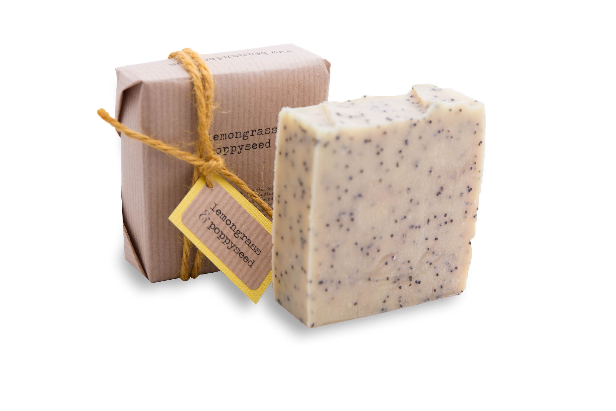 Lemongrass and Poppyseed Bean and Boy Soap