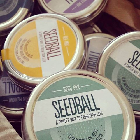 New in: Seedball Tins for Gardeners (and Gardener's Soap!)