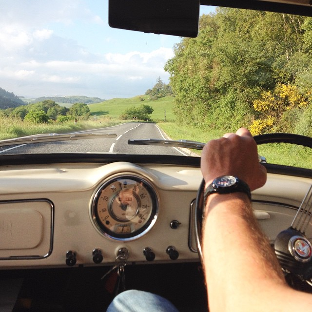 Inspiring Women: Meet Beth from Kippford Classic Car Hire