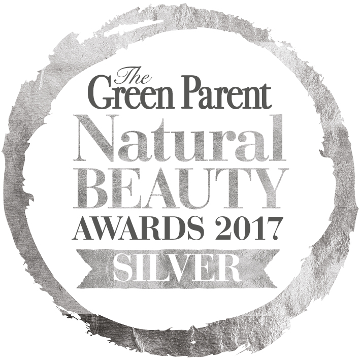 Bean and Boy wins a Silver Award in the Green Parent Natural Beauty Award