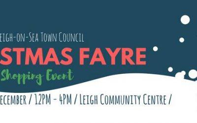 Leigh Festive Fayre This Saturday