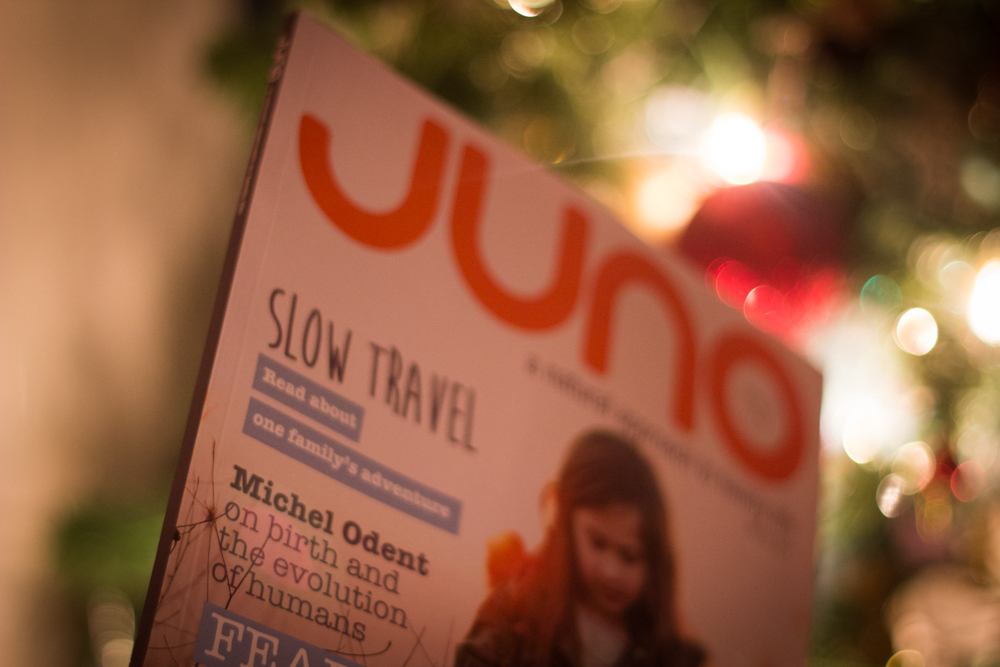 Winter warmth with Juno Magazine