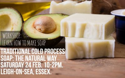 Learn how to make soap!