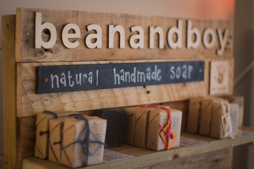 Bean & Boy Soaps now available at The Yoga Factory Southend