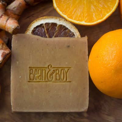 Orange and Turmeric Soap