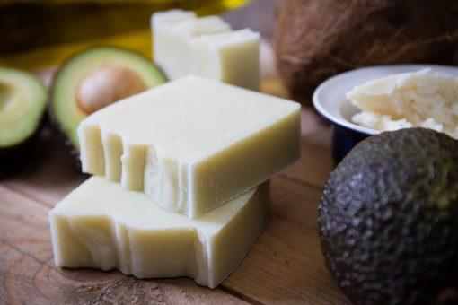 Unscented Simple Natural Handmade Soap for Sensitive Skin