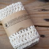 handmade cotton facecloth
