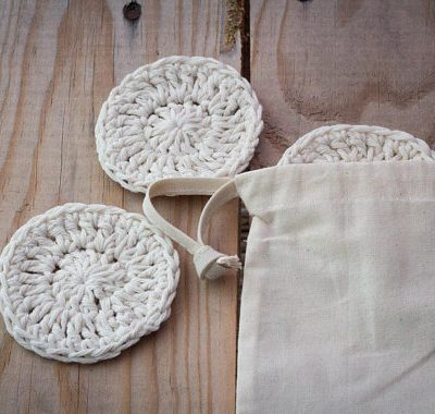 handmade cotton scrubbies