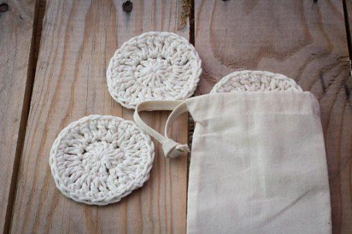 handmade cotton scrubbies