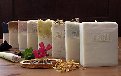 Introducing : THE PURE RANGE of castile bar soaps